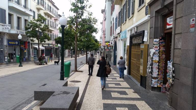 Picture of a street in Funchal