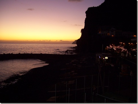 madeira news blog 0908 elaine ponto do sol sunset