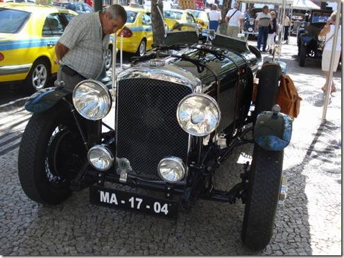 madeira news blog 0912 martin Bentley Derby 1923, competed in 2009 Volta da Madeira