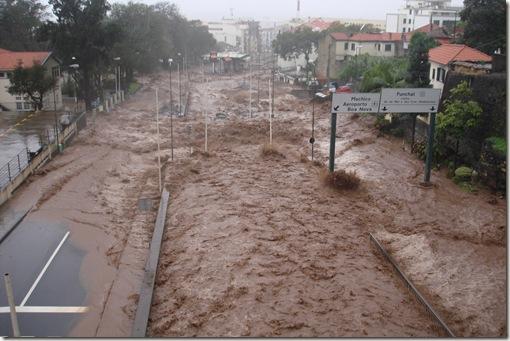 madeira news blog 1002 tom floods funchal february 2010 cross section of rua de pina
