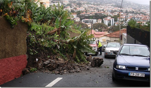 madeira news blog 1002 tom wall collapse in bad weather january 2010