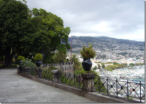 Quinta Vigia gardens and the view over Funchal