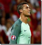 Cristiano Ronaldo in new Portugal colours