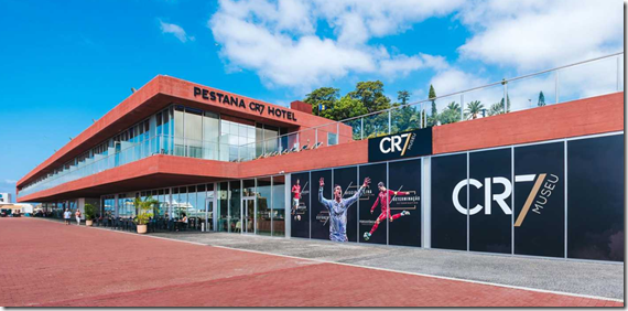 New Pestana CR7 hotel in Madeira