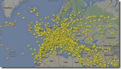 European flights image