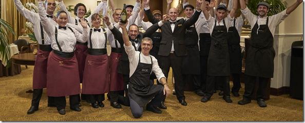 Staff at Il Gallo d'Oro
