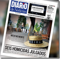Copy of the front page of today's Diario