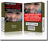 New Cigarette packaging