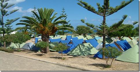 Porto Santo campsite
