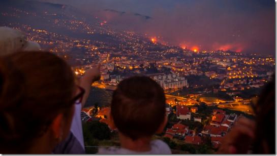 imagFire in Funchale