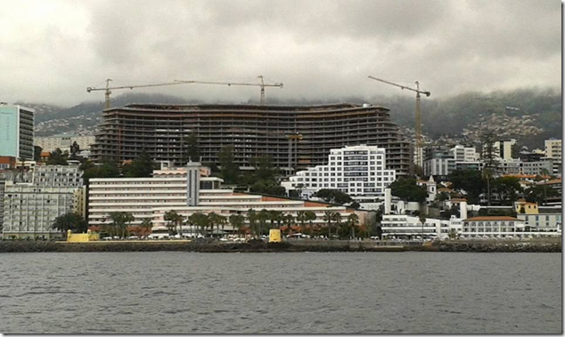 New Savoy Palace hotel in Funchal
