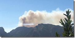 Fires in Jardim da Serra