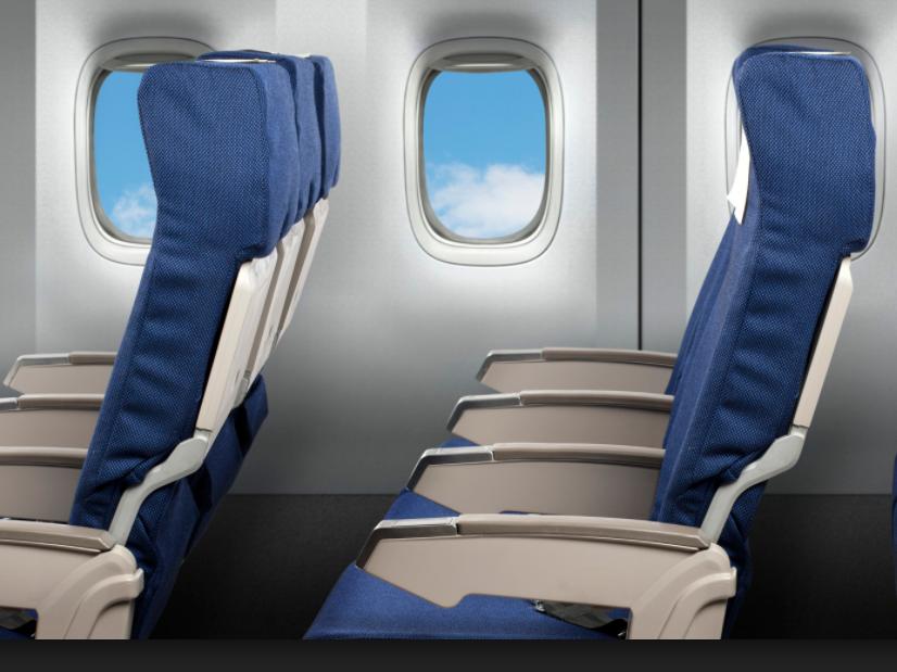 Airplane seating photo
