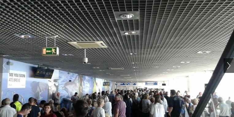 ankunft porto airport