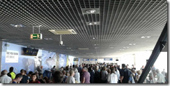 Madeira Airport - queues