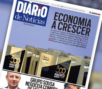 Diario headline: economy is growing