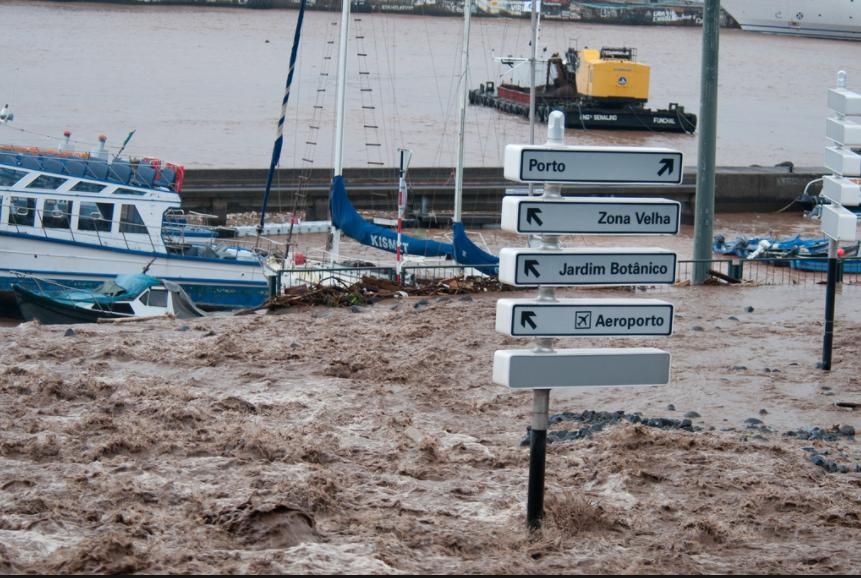 Madeira floods