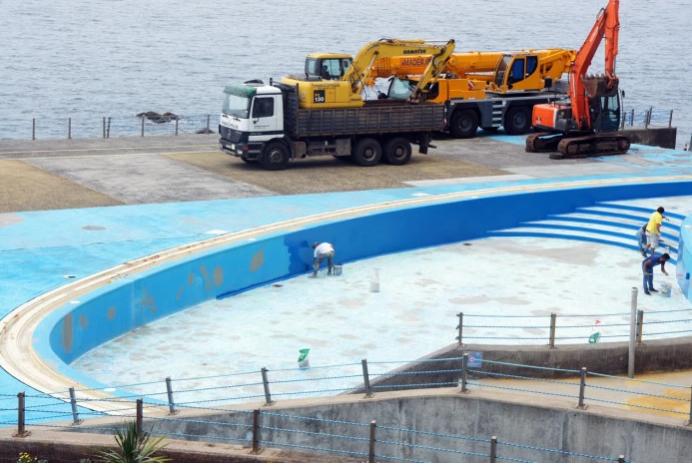 Ponta Gordo bathing complex