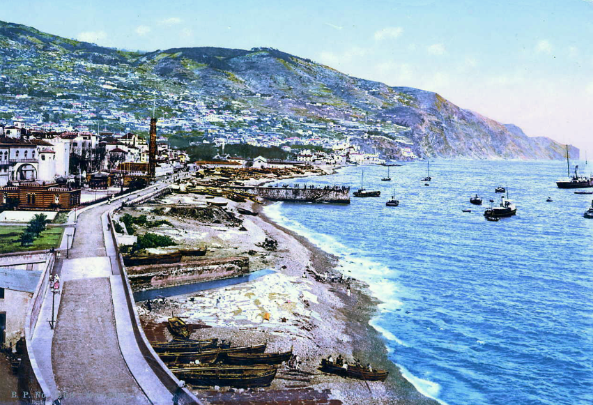 Avenida do Mar in 1920