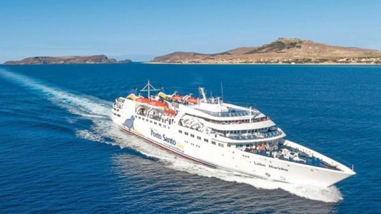 Porto Santo Ferry - the Lobo Marinho