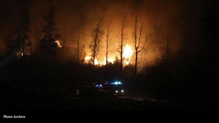 Câmara de Lobos fire
