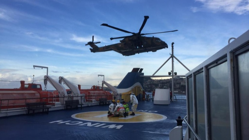 Emergency simulated on board Porto Santo ferry