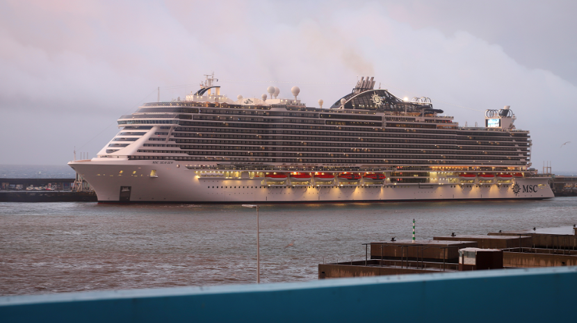 MSC Seaview arrives in Funchal • Madeira Island News