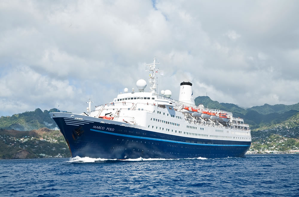 Marco Polo - the cruise ship used by drug smugglers.