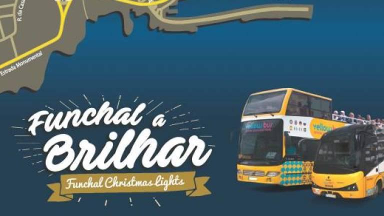 Bus tour of Christmas lights