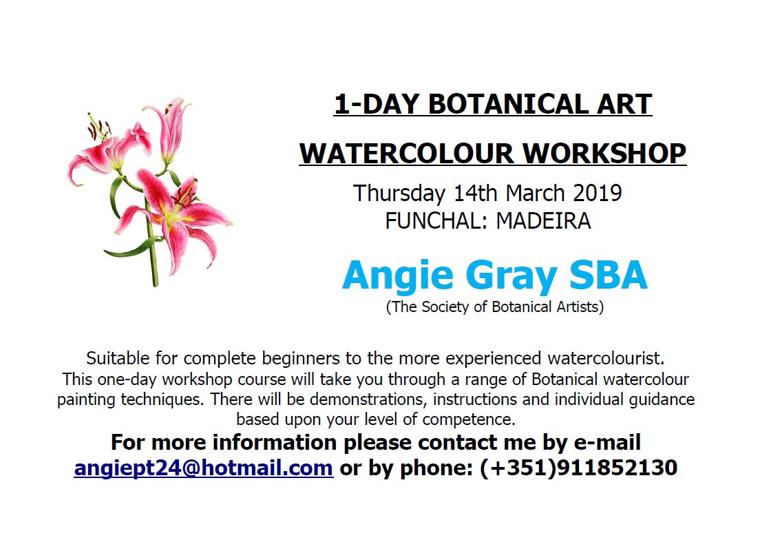 Botanical Art Watercolour Workshop