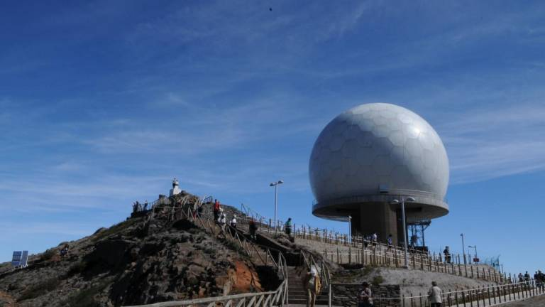 Optical site for Pico do Areeiro similar to one in Azores