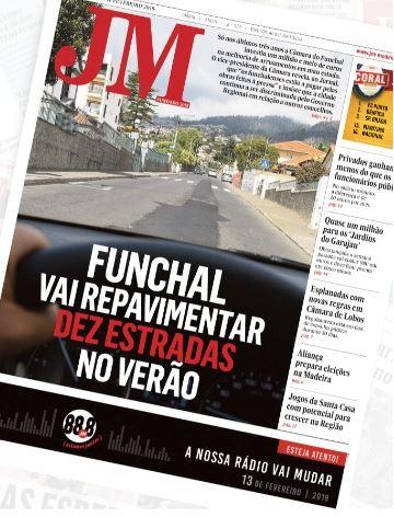Funchal road improvements