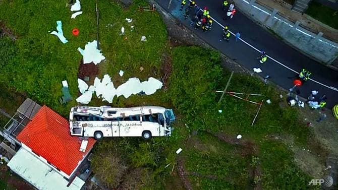 Drone crash footage illegal • Madeira Island News