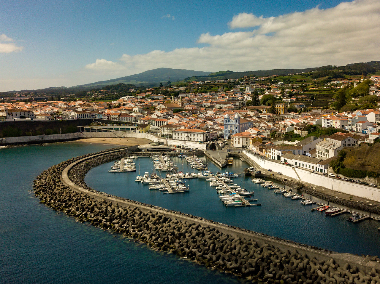 Terceira Island in the Azores