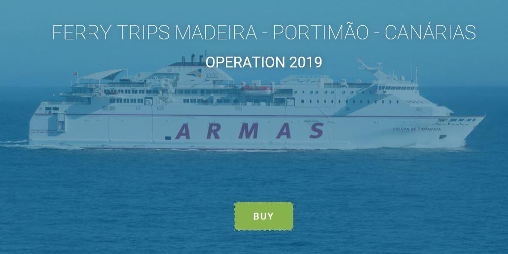 New ferry website now live • Madeira Island News