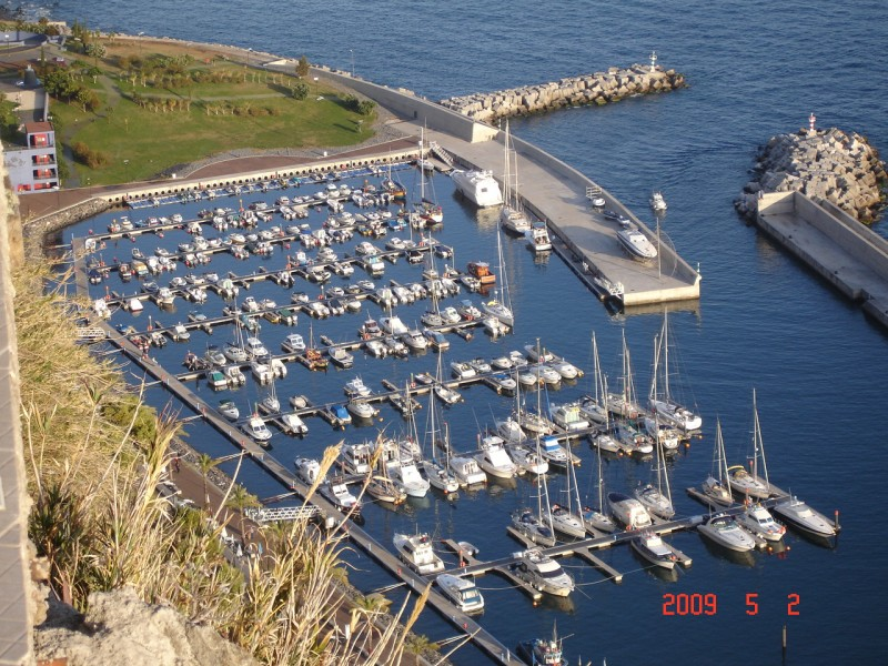 Calheta marina in better times