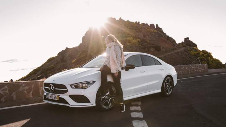 Mercedes chose Madeira as the stage for an interview and report with Austrian photographer and blogger
