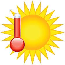 Hot weather clip art
