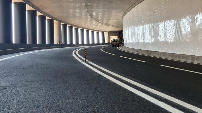 Aonther new road opens as elections near • Madeira Island News