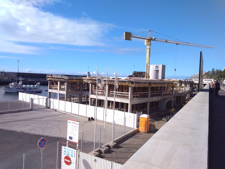 New port building progresses • Madeira Island News