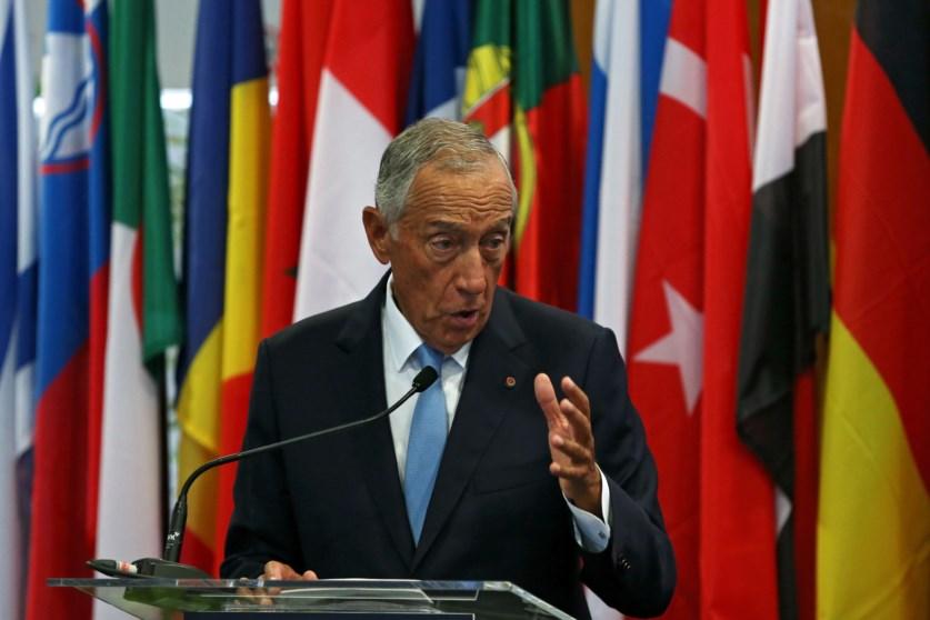 Marcelo Rebelo de Sousa, who was congratulated on Portugal's finances