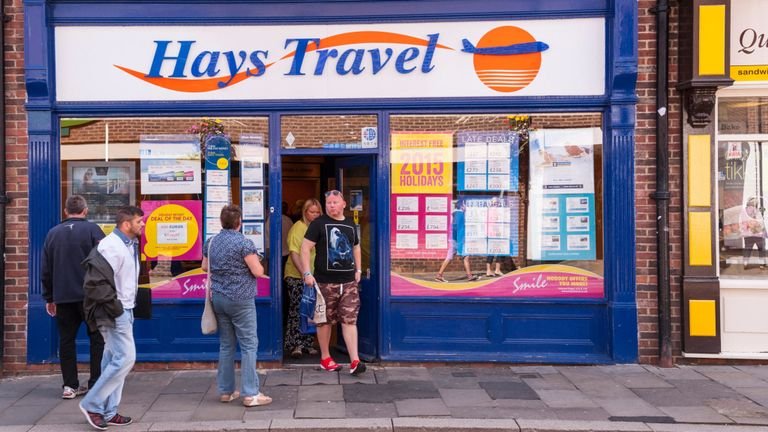 Hays Travel store