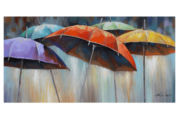 Picture - several umbrellas