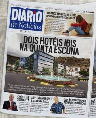 Two Ibis hotels for Santa Cruz • Madeira Island News