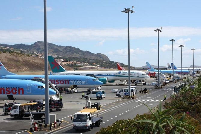 Busy Funchal airport is a good economic indicator