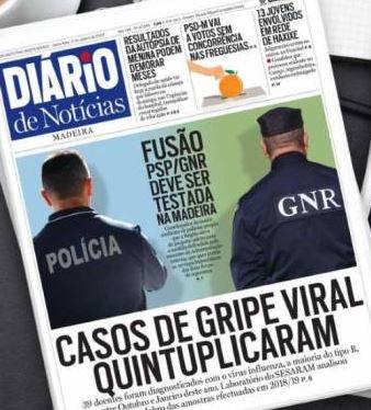Diario headlie that gripe has risen fivefold