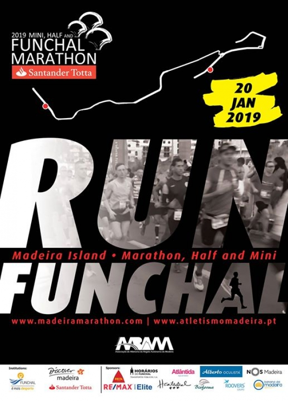 Funchal Marathon poster